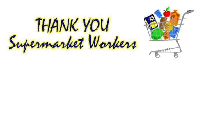 Thank You Essential Workers - All Free Thank You Notes
