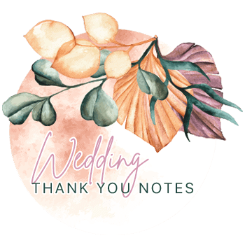 Wedding Thank You Note - All Free Thank You Notes